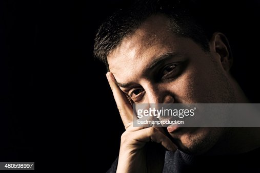 Portrait of handsome male : Stock Photo