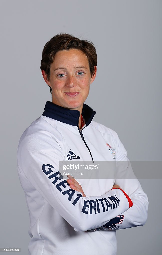 A portrait of Hannah McLeod a member of the Great Britain Olympic team during the Team GB Kitting Out ahead of Rio 2016 Olympic Games on June 30, 2016 in Birmingham, England.