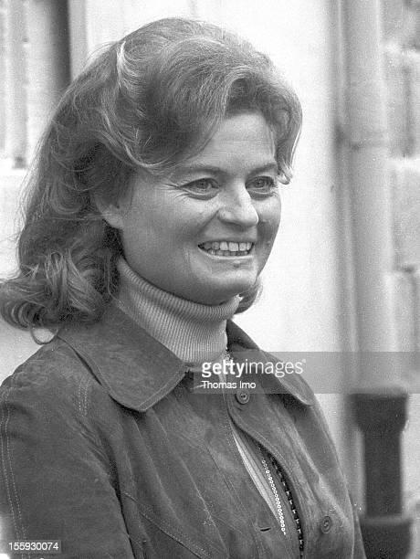 Portrait of Hannelore Kohl wife of Helmut Kohl March 10 Oggersheim Germany