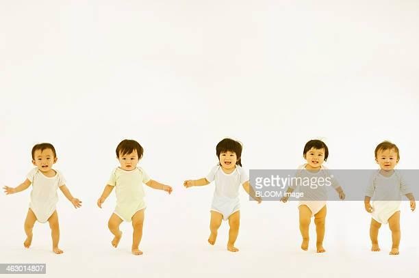 Portrait Of Happy Babies