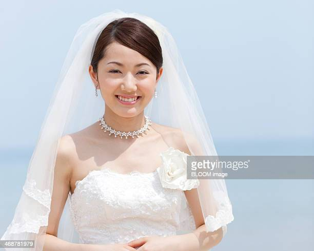 Portrait Of Happy Bride