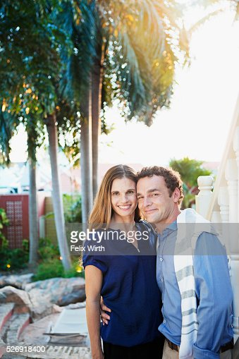 Portrait of happy couple : Photo