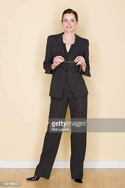 Portrait of happy mid adult businesswoman