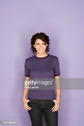 Portrait of happy mid adult woman