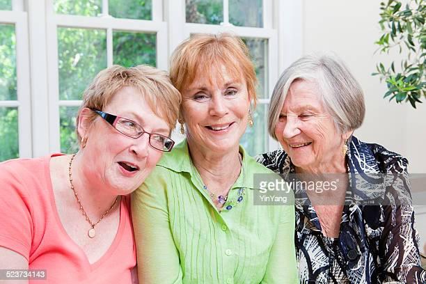 Portrait of Happy Senior Women Group