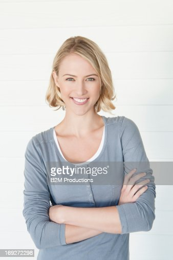 Portrait Of Happy Young Woman