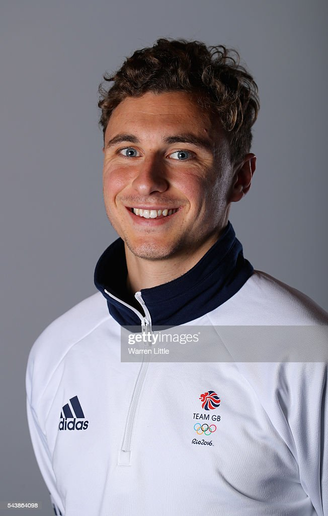 A portrait of Harry Martin a member of the Great Britain Olympic team during the Team GB Kitting Out ahead of Rio 2016 Olympic Games on June 30, 2016 in Birmingham, England.