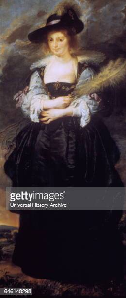 Portrait of Helane Fourment ca 1638 Oil on canvas by Peter Paul Rubens Helena Fourment or Helane Fourment was the second wife of Baroque painter...