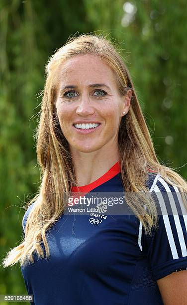 A portrait of Helen Glover of Great Britain Rowing team after the announcement of Rowing athletes named in Team GB for the Rio 2016 Olympic Games at...
