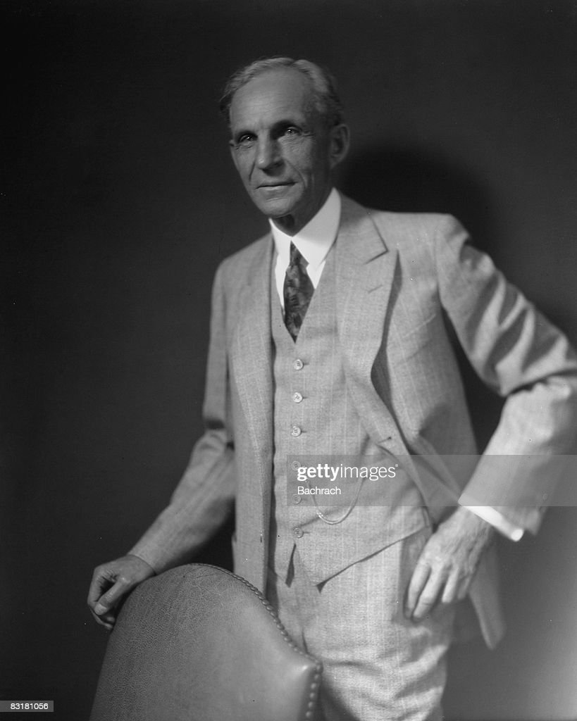 Henry Ford Founder Of Ford Motor Company Getty Images