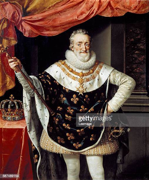 Portrait of Henry IV King of France by Frans Pourbus the Younger Firenze Galleria Palatina