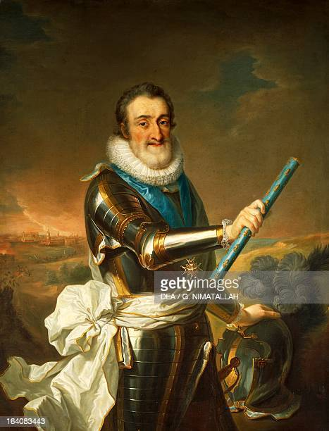 Portrait of Henry IV of France King of France and Navarre Florence Palazzo Pitti Galleria Palatina