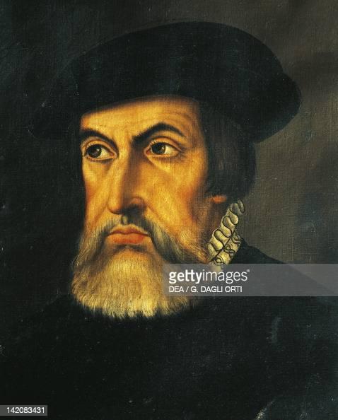 Portrait of Hernan Cortes Spanish conqueror