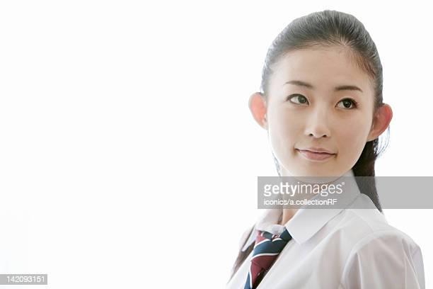 Portrait of High School Student