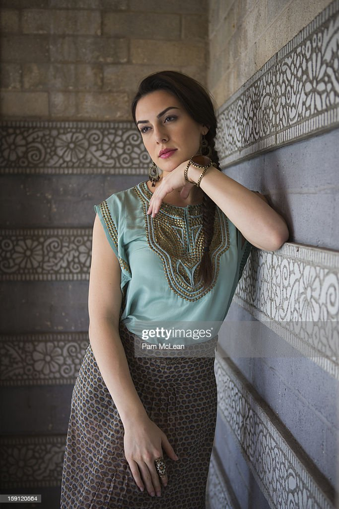 Portrait of Hispanic woman : Stock Photo