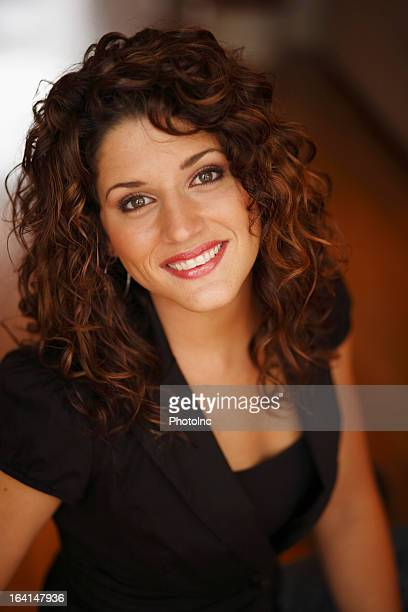 Portrait of Hispanic woman smiling