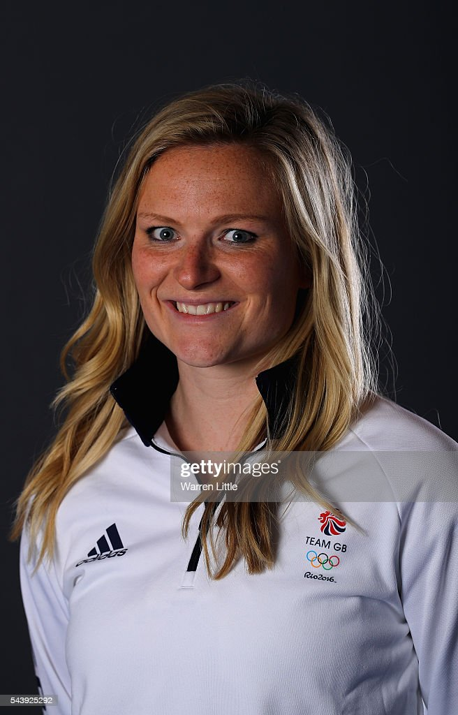 A portrait of Holly Webb a member of the Great Britain Olympic team during the Team GB Kitting Out ahead of Rio 2016 Olympic Games on June 30, 2016 in Birmingham, England.