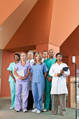 portrait of hospital staff
