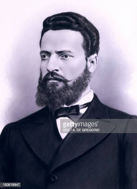 Portrait of Hristo Botev Bulgarian poet and revolutionary Bulgaria 19th century