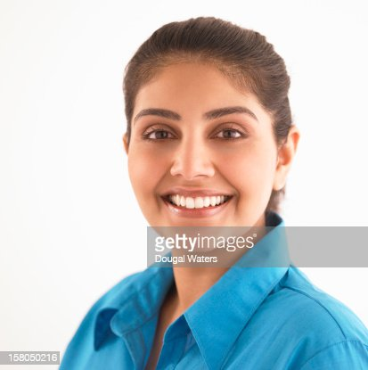 Portrait of Indian business woman. : Stock Photo