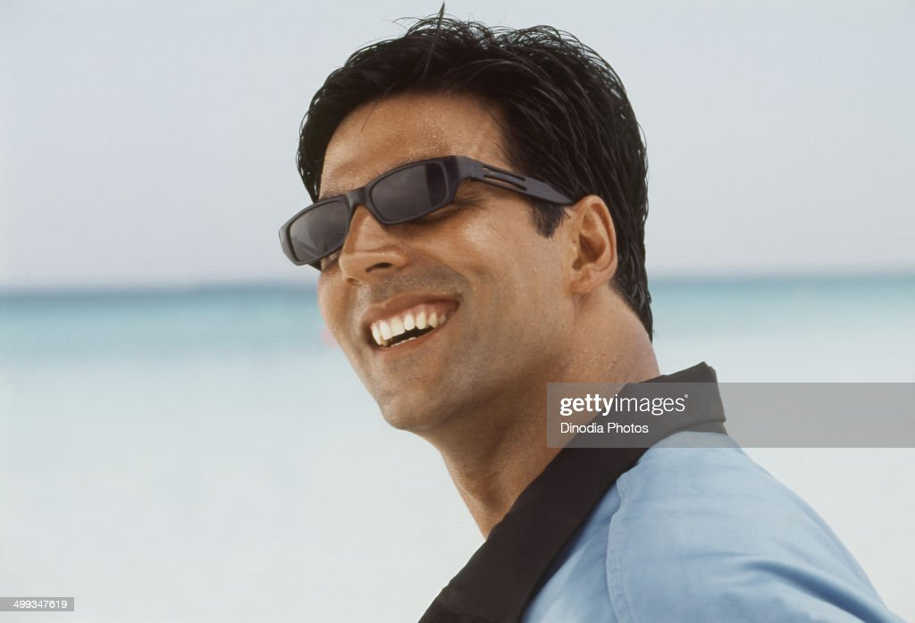 2004, Portrait of Indian film actor <a gi-track='captionPersonalityLinkClicked' href=/galleries/search?phrase=Akshay+Kumar&family=editorial&specificpeople=752716 ng-click='$event.stopPropagation()'>Akshay Kumar</a>.