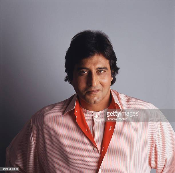 1987 Portrait of Indian film actor and politician Vinod Khanna