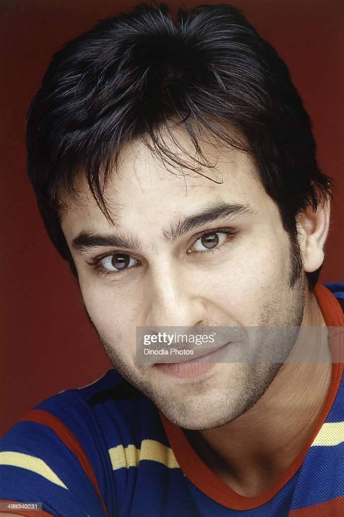 2000, Portrait Of Indian film actor <a gi-track='captionPersonalityLinkClicked' href=/galleries/search?phrase=Saif+Ali+Khan&family=editorial&specificpeople=3117032 ng-click='$event.stopPropagation()'>Saif Ali Khan</a>.