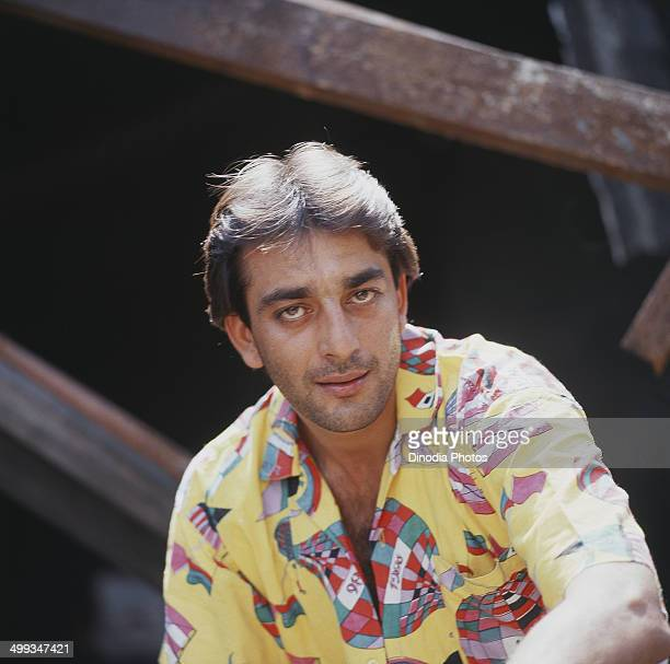 1987 Portrait of Indian film actor Sanjay Dutt