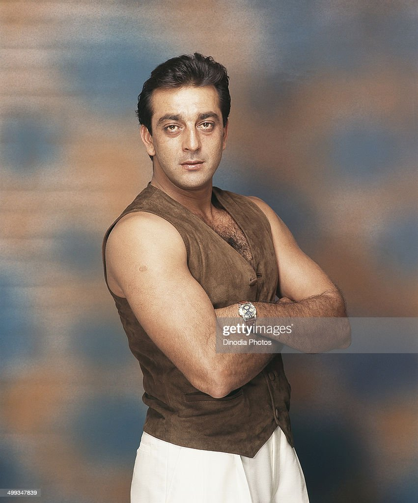 1998, Portrait of Indian film actor Sanjay Dutt.
