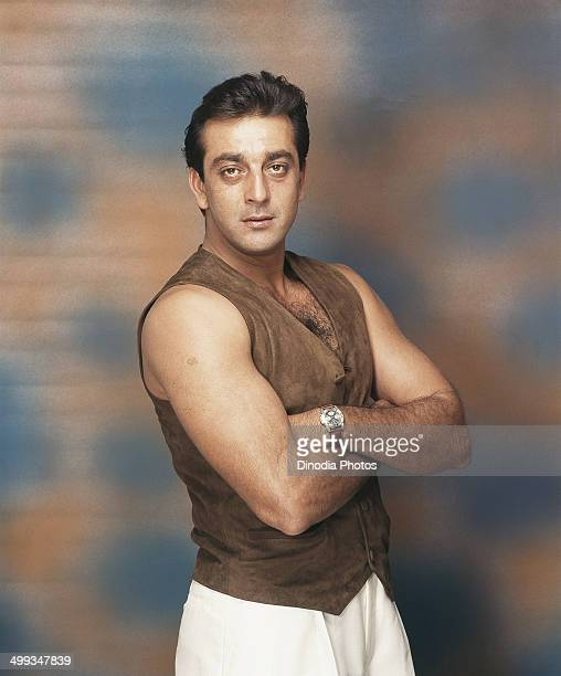 1998 Portrait of Indian film actor Sanjay Dutt