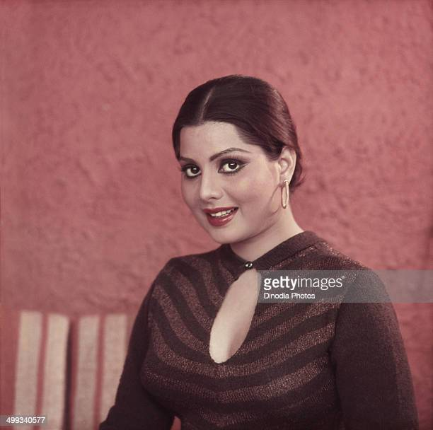 1982 Portrait of Indian film actress and Playback Singer Sulakshna Pandit