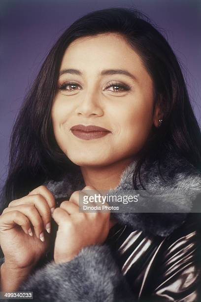 1999 Portrait Of Indian film actress Rani Mukerji