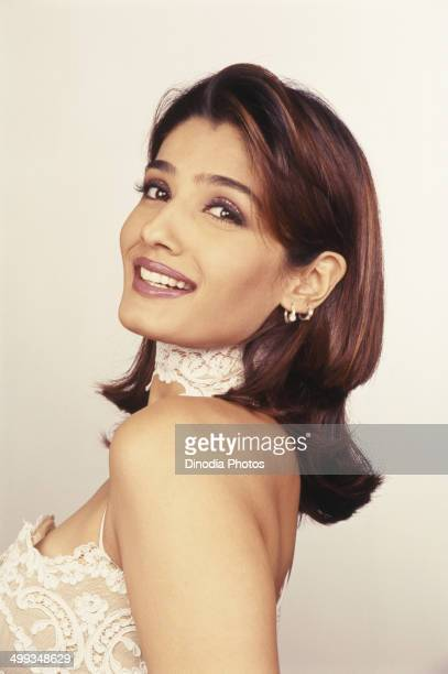2002 Portrait of Indian film actress Raveena Tandon