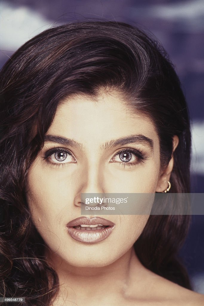 2001, Portrait of Indian film actress <a gi-track='captionPersonalityLinkClicked' href=/galleries/search?phrase=Raveena+Tandon&family=editorial&specificpeople=3007225 ng-click='$event.stopPropagation()'>Raveena Tandon</a>.