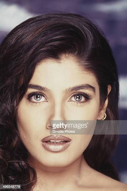 2001 Portrait of Indian film actress Raveena Tandon