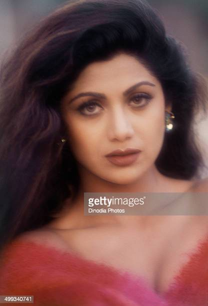 1999 Portrait of Indian film actress Shilpa Shetty