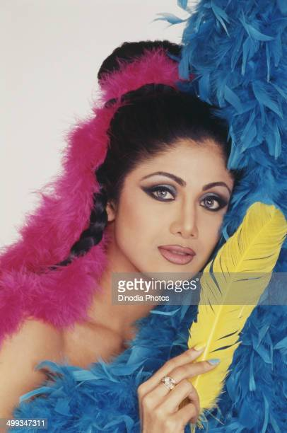 2000 Portrait Of Indian film actress Shilpa Shetty