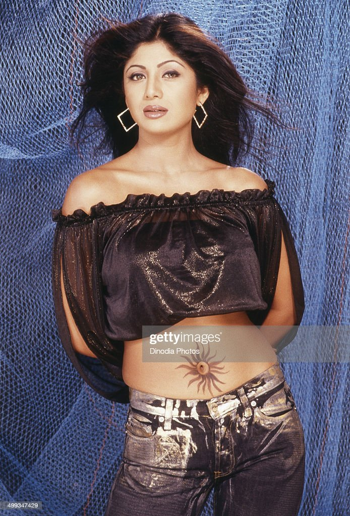 1997, Portrait Of Indian film actress <a gi-track='captionPersonalityLinkClicked' href=/galleries/search?phrase=Shilpa+Shetty&family=editorial&specificpeople=565509 ng-click='$event.stopPropagation()'>Shilpa Shetty</a>.