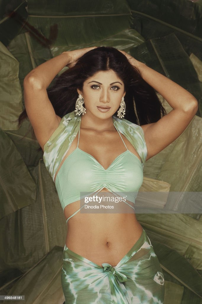 2002, Portrait of Indian film actress <a gi-track='captionPersonalityLinkClicked' href=/galleries/search?phrase=Shilpa+Shetty&family=editorial&specificpeople=565509 ng-click='$event.stopPropagation()'>Shilpa Shetty</a>.