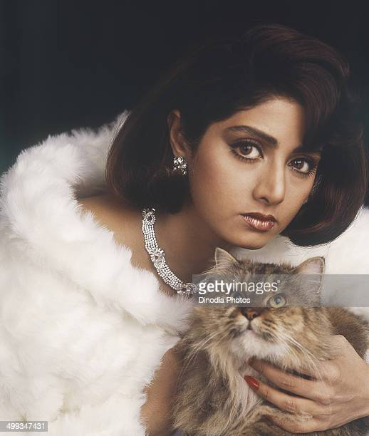 1996 Portrait of Indian film actress Sridevi