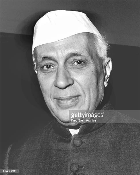 Portrait of Indian politician and Prime Minister Jawaharlal Nehru 1960