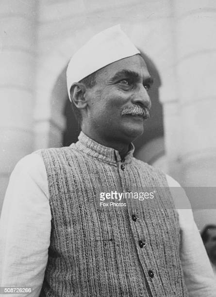 Portrait of Indian President Rajendra Prasad following his appointment January 24th 1950