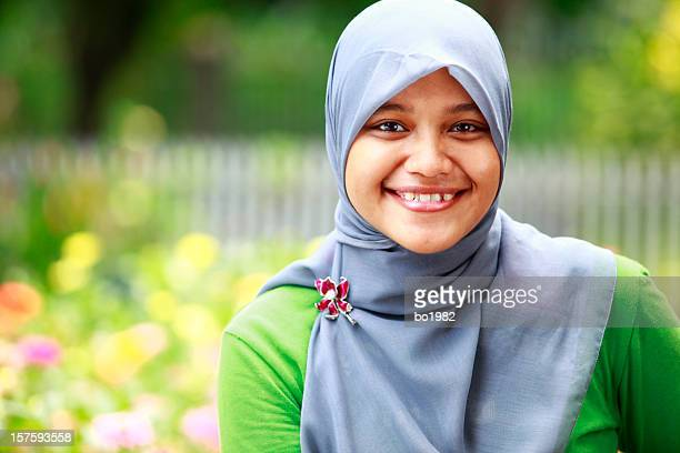 portrait of indonesian young woman