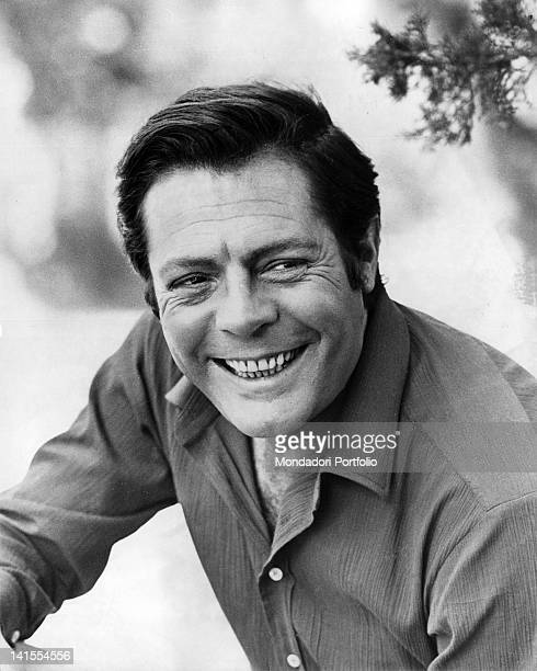 Portrait of Italian actor Marcello Mastroianni Treviso August 1968