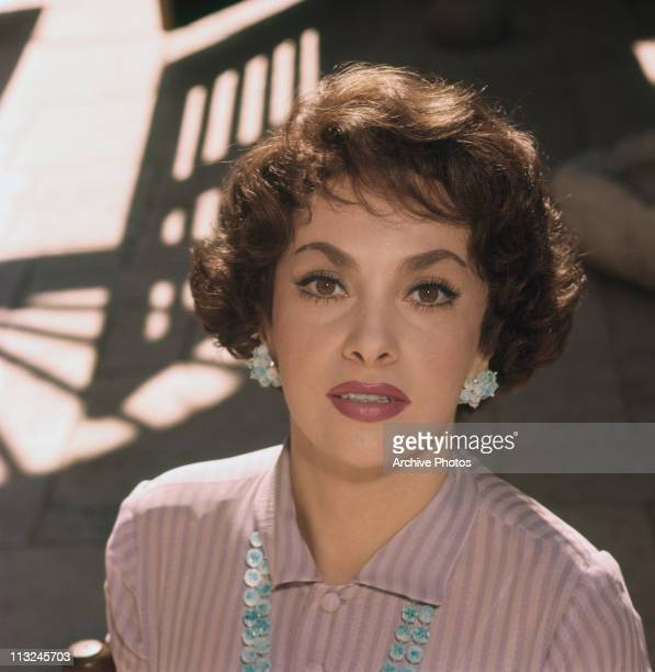Portrait of Italian actress Gina Lollobrigida circa 1960