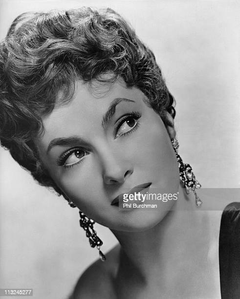 Portrait of Italian actress Gina Lollobrigida in 1952