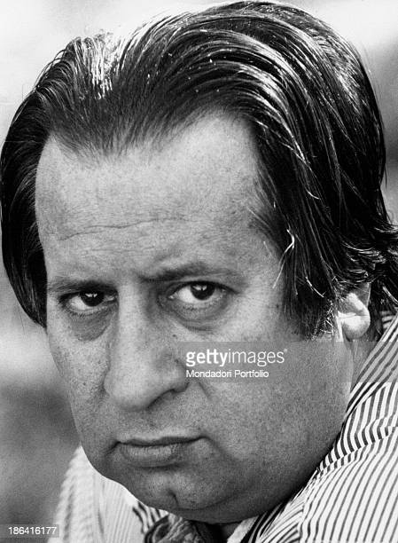 Portrait of Italian director and playwright Tinto Brass Rome 1979