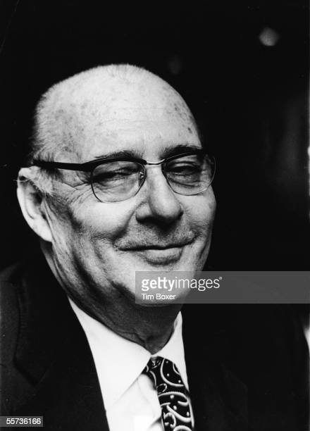 Portrait of Italian motion picture director Roberto Rossellini at the Museum of Modern Art New York February 16 1971