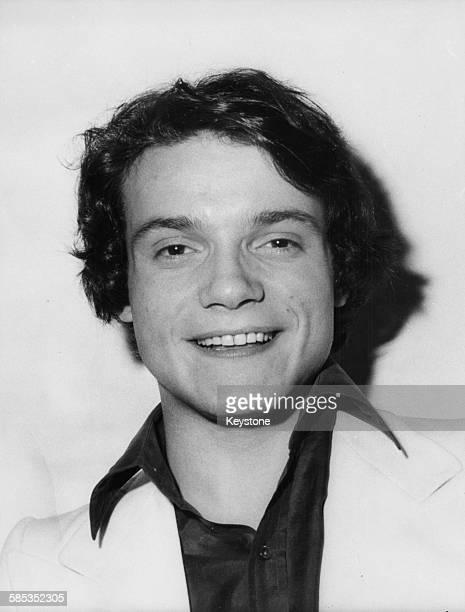 Portrait of Italian pop singer Massimo Ranieri circa 1970