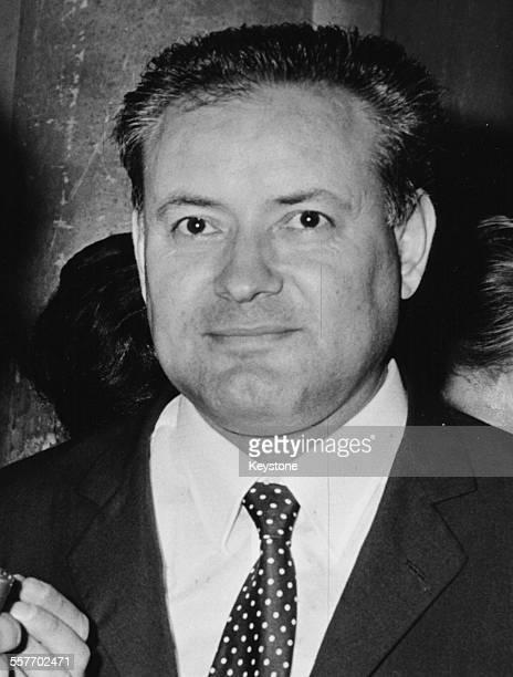 Portrait of Italian writer Paolo Volponi winner of the 'Premio Strega' literary prize Rome July 3rd 1965